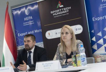 Bemutatkoztunk a HEPA SportTech Hungary konferencián